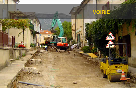 Aubery TP - Voirie